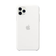 Originální kryt pro Apple iPhone 11 Pro Max - silikonový - bílý