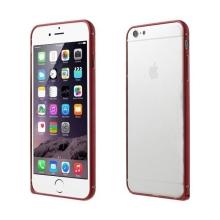 Tenký hliníkový rámeček / bumper LOVE MEI pro Apple iPhone 6 - červený