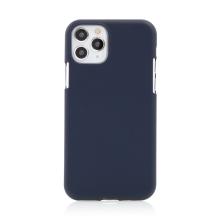 Kryt MERCURY Soft Feeling pro Apple iPhone 11 Pro Max - silikonový - modrý