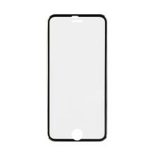 3D tvrzené sklo (Tempered Glass) pro Apple iPhone 6 / 6S - černý rámeček