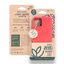 Kryt FORCELL BIO - pro Apple iPhone 12 Pro Max - Zero Waste kompostovatelný kryt - červený