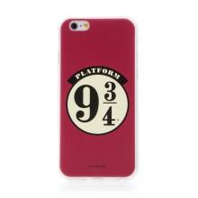 Kryt Harry Potter pro Apple iPhone 6 / 6S - gumový - nástupiště 9 a 3/4 - červený
