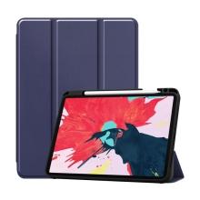 """Pouzdro pro Apple iPad Pro 11"""" (2018) / 11"""" (2020) - stojánek + prostor pro Apple Pencil - tmavě modré"""