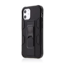 Kryt FORCELL Defender pro Apple iPhone 12 mini - plastový / gumový - černý