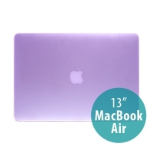 Tenký ochranný plastový obal pro Apple MacBook Air 13.3 - matný - fialový