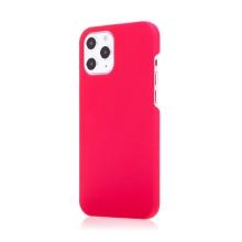 Kryt pro Apple iPhone 12 / 12 Pro - plastový - měkčený povrch - růžový