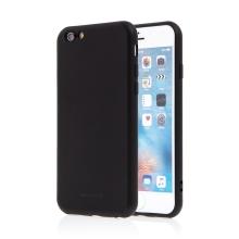 Kryt SWISSTEN Soft Joy pro Apple iPhone 6 / 6S - příjemný na dotek - silikonový - černý