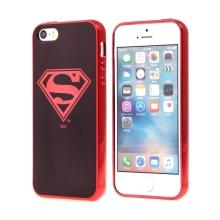 Kryt pro Apple iPhone 5 / 5S / SE - Superman - gumový