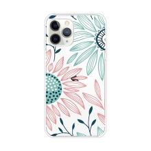 Kryt pro Apple iPhone 11 Pro Max  - gumový - kreslené květiny