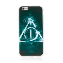 Kryt Harry Potter pro Apple iPhone 6 / 6S - gumový - Relikvie smrti - černý