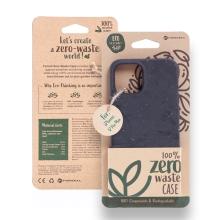 Kryt FORCELL BIO - pro Apple iPhone 12 Pro Max - Zero Waste kompostovatelný kryt - černý