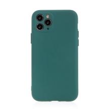 Kryt pro Apple iPhone 11 Pro - příjemný na dotek - silikonový - lesně zelený