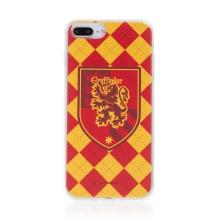 Kryt Harry Potter pro Apple iPhone 7 Plus / 8 Plus - gumový - emblém Nebelvíru
