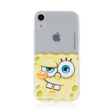 Kryt Sponge Bob pro Apple iPhone Xr - gumový - potutelný Sponge Bob