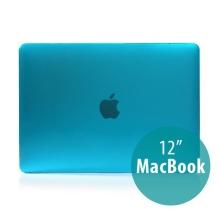 Tenký plastový obal / kryt pro Apple MacBook 12 Retina (rok 2015) - lesklý - modrý