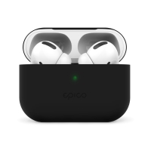 Pouzdro / obal EPICO pro Apple AirPods Pro - silikonové - černé
