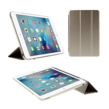 Pouzdro / kryt + Smart Cover pro Apple iPad mini 4 - zlaté (champagne)