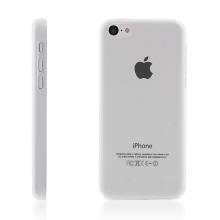 Ultra tenký ochranný kryt pro Apple iPhone 5C (tl. 0,3 mm) - plastový - matný - průhledný
