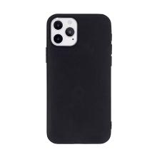 Kryt pro Apple iPhone 12 / 12 Pro  - gumový - černý