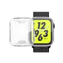 Kryt pro Apple Watch 4 / 5 / 6 / SE 40mm - stříbrný - gumový