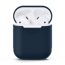 Pouzdro / obal pro Apple AirPods - silikonové - modré