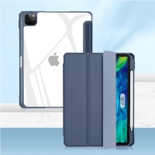 """Pouzdro MUTURAL pro Apple iPad 11"""" (2018 / 2020 / 2021) - stojánek + prostor pro Apple Pencil - tmavě modré"""