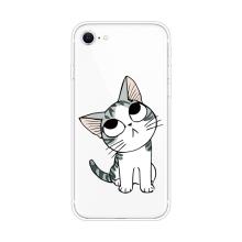 Kryt pro Apple iPhone 7 / 8 / SE (2020) - gumový - vzhlížející kotě