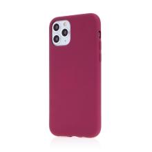 Kryt pro Apple iPhone 11 Pro - příjemný na dotek - silikonový - vínový
