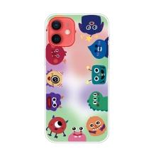 Kryt pro iPhone 12 / 12 Pro - gumový - příšery