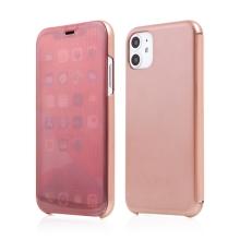 Pouzdro pro Apple iPhone 11 Pro - průsvitné - plastové - Rose Gold růžové