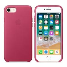 Originální kryt pro Apple iPhone 7 Plus / 8 Plus - kožený - fuchsiový