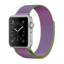 Řemínek pro Apple Watch 41mm / 40mm / 38mm - nerezový - perleťový