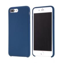 Kryt pro Apple iPhone 7 Plus / 8 Plus - gumový - příjemný na dotek - tmavě modrý