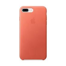 Originální kryt pro Apple iPhone 7 Plus / 8 Plus - kožený - muškátový