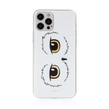 Kryt Harry Potter pro Apple iPhone 12 / 12 Pro - gumový - oči sovy Hedviky - průhledný