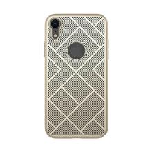 Kryt NILLKIN Air pro Apple iPhone Xr - preforovaný / s otvory - plastový - zlatý