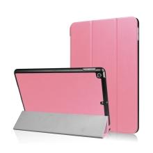 Pouzdro / kryt pro Apple iPad 9,7 (2017-2018) - funkce chytrého uspání + stojánek - růžové