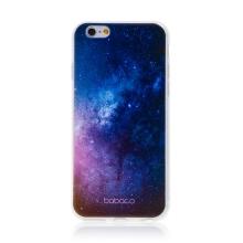 Kryt BABACO pro Apple iPhone 6 / 6S - gumový - galaxie