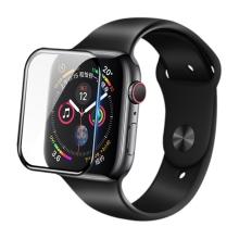 Tvrzené sklo (Tempered Glass) Nillkin 3D AW+ pro Apple Watch 44mm Series 4 / 5 - černý okraj
