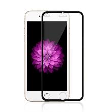 Super odolné tvrzené sklo (Tempered Glass) na přední část Apple iPhone 6 / 6S - tenký černý rámeček - 0,3mm