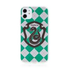 Kryt Harry Potter pro Apple iPhone 11 - gumový - emblém Zmijozelu