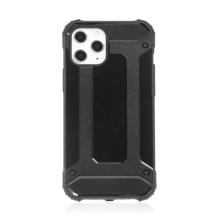 Kryt FORCELL Armor pro Apple iPhone 12 Pro Max - plastový / gumový - černý