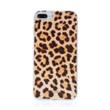 Kryt BABACO pro Apple iPhone 7 Plus / 8 Plus - gumový - leopardí vzor