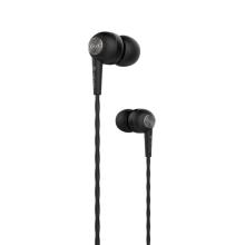 Sluchátka DEVIA s mikrofonem pro Apple iPhone / iPad / iPod a další zařízení - černá