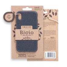 Kryt FOREVER BIOIO - pro Apple iPhone Xr - Zero Waste kompostovatelný kryt - černý