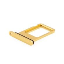 Rámeček / šuplík na Nano SIM pro Apple iPhone 11 - žlutý - kvalita A+