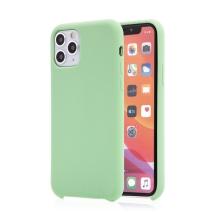 Kryt pro Apple iPhone 11 Pro Max - příjemný na dotek - silikonový - mátově zelený