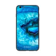 Kryt BABACO pro Apple iPhone 6 Plus / 6S Plus - skleněný - Akvamarín