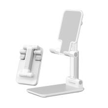 Stojánek DEVIA pro Apple iPhone - kovový - bílý