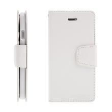 Pouzdro Mercury Sonata Diary pro Apple iPhone 7 / 8 - stojánek a prostor na doklady - bílé